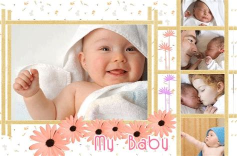 beautiful baby photo album 20 free psd ai vector eps