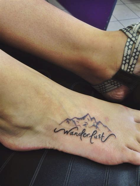 wrist foot tattoos best 25 hiking ideas on cing