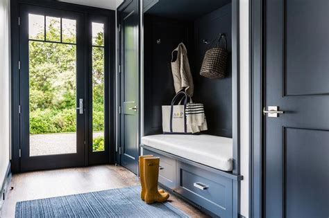 glass doors built in bench mudroom doors image for the mudroom above uses more
