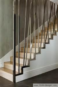stairway banisters and railings nowoczesne schody z oryginalną balustradą architektura