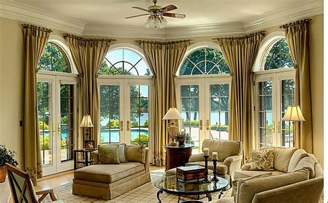 Bow Window Curtains comfortwest california best design draperies and
