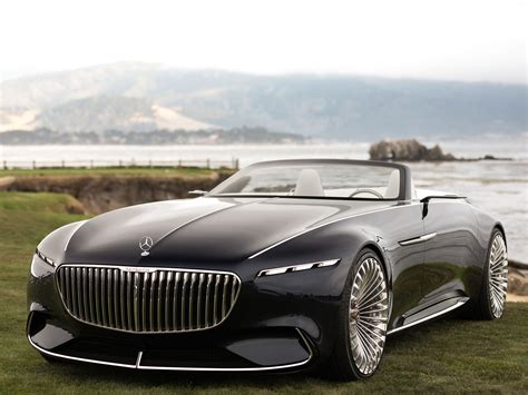 maybach mercedes concept 2017 monterey the vision mercedes maybach 6 cabriolet