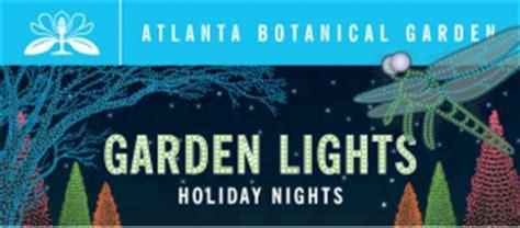 Atlanta Botanical Gardens Discount Tickets Discount For Garden Lights Holiday Nights At The Atlanta