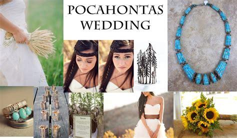 pocahontas wedding theme bliss weddings wedding and disney princess weddings