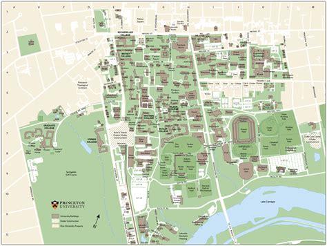 princeton map princeton cus map adriftskateshop