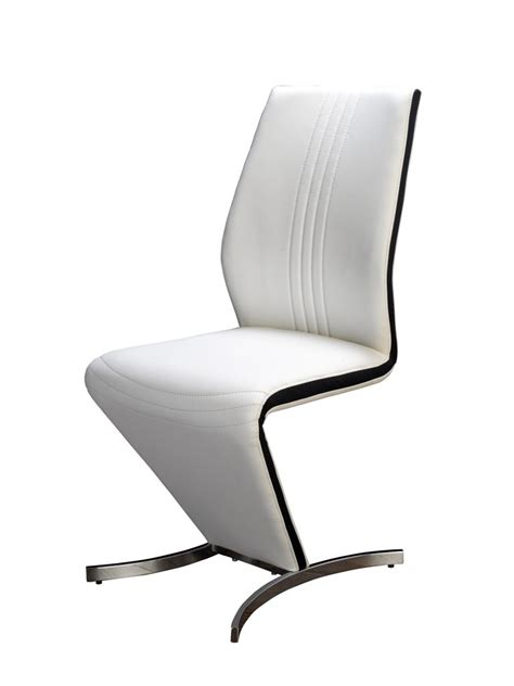 Z Dining Chairs Zico White Black Z Designer Dining Chair