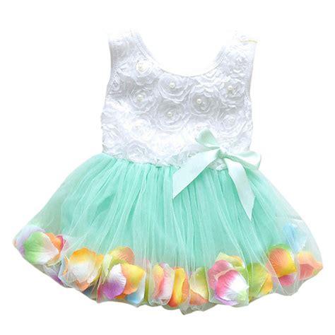 Sale Kid Dress Lace Hellen kid princess sales toddler baby tutu lace bow flower dresses clothes in dresses