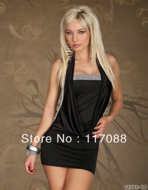 shipping ml black lovely neck cut  outfit