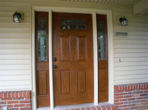 Exterior Doors With Sidelites Front Door With Sidelites Wreaths Home Design Ideas