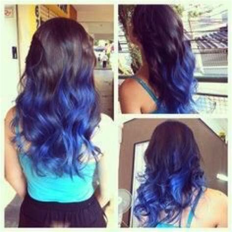 temporary blue hair color blue temporary hair dye s fashion on carousell