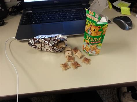 Sad Desk Lunch by
