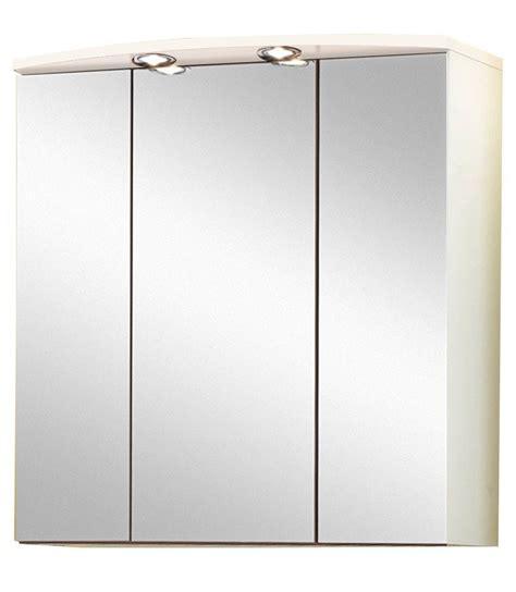 Spiegelschrank 3 Türig Mit Beleuchtung by Spiegelschrank 187 Salerno 171 Breite 70 Cm Mit Beleuchtung