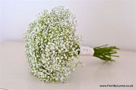 Wedding Bouquet Gypsophila by Wedding Flowers New Place Wedding Fayre