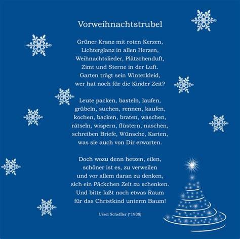 weihnachtsgedicht weihnachten pinterest