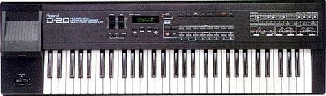 Keyboard Roland D20 audio kit