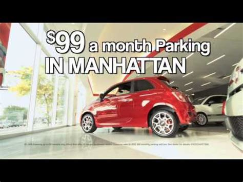 Fiat Manhattan Parking Fiat Of Manhattan 99 Parking Lease Special New