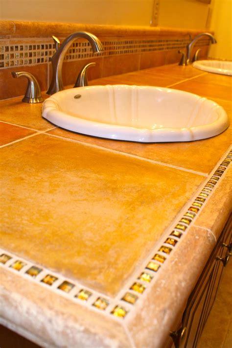 mosaic bathroom countertop 23 best images about bath countertop ideas on pinterest