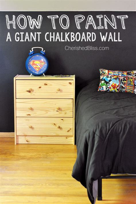 chalk paint walls how to paint a chalkboard wall rooms child room