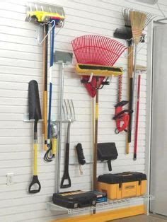 shovel and rake storage cabinet 1000 images about lawn garden storage ideas on
