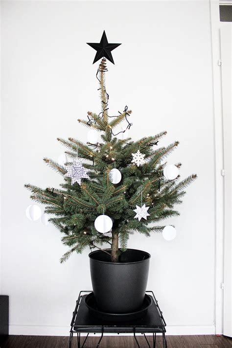 oh what a room unser weihnachtsbaum in schwarz wei 223 meine