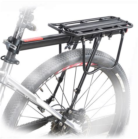 How To Use A Rear Bike Rack by Bike Bicycle Cycling Aluminum Alloy Rear Rear Carrier Rack