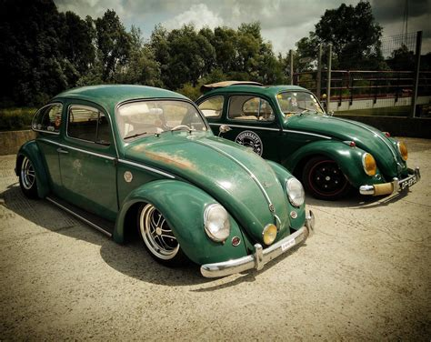volkswagen bug wheels vw bug on air suspension with dsr style wheels by