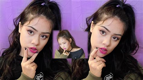 blackpink no makeup quick easy jennie blackpink inspired makeup tutorial