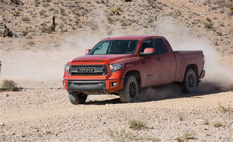 Toyota Tundra Trd Pro Series Car And Driver