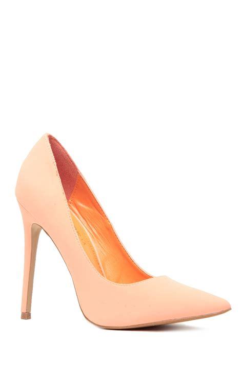 faux nubuck pointy toe classic pumps cicihot heel