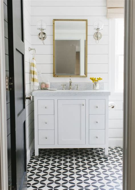 how to install a bathroom wall cabinet how to install shiplap vanities tile and studios