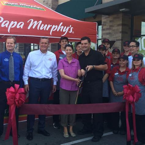 Pizza Giveaway - papa murphy s celebrates 1 500th store opening with 1 500 pizza giveaway