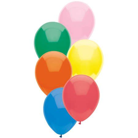 assorted colors way to celebrate balloons 9 quot assorted colors 25