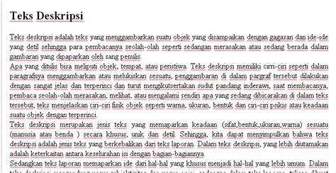 pengertian teks laporan teks deskripsi dll beranda ilmu