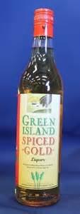 green liquor handling green island spiced gold liquor quot mauritian rum spirit quot 700ml auction 0010 9001613