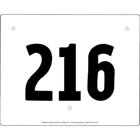 Race Number Template racing number template studio design gallery best