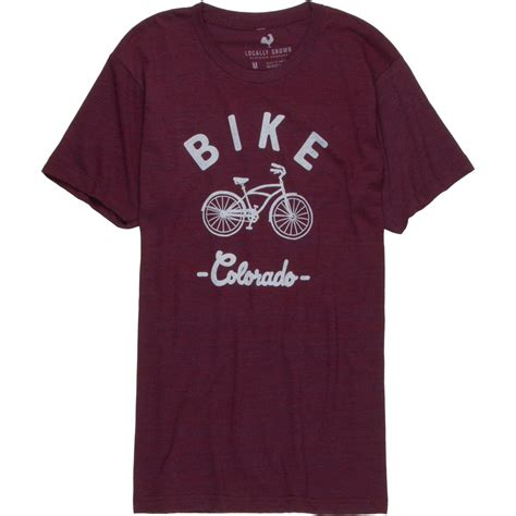 t shirt lba bikers tiger cruiser locally grown bike cruiser colorado tri blend vintage t