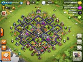 Best town hall level 8 defense for trophies but while my town hall was