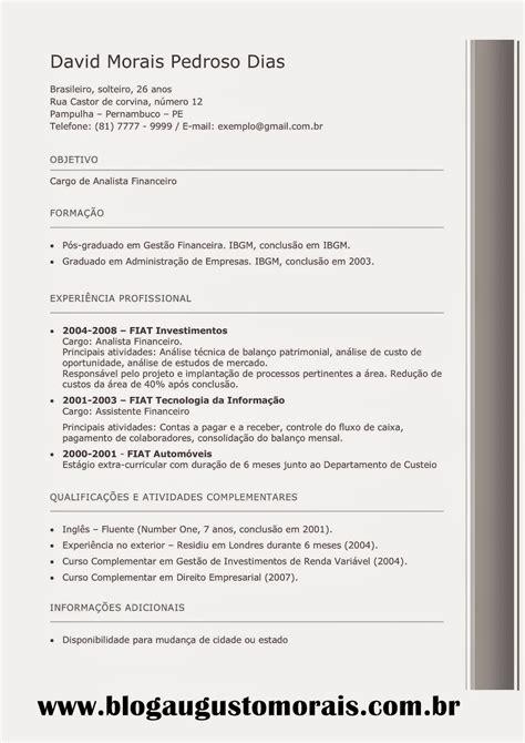 Modelo Curriculum Norteamericano Modelo De Curriculum Vitae Americano Modelo De Curriculum Vitae