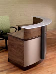 Circular Bookshelves - circular reception desk modern reception desks stoneline designs