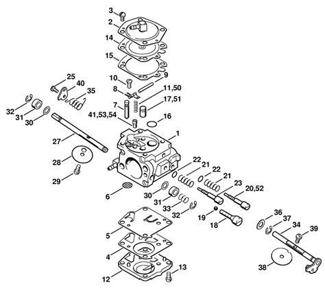 stihl 023 parts diagram stihl 030 031 chainsaw carburetor walbro wa2 carb 1113