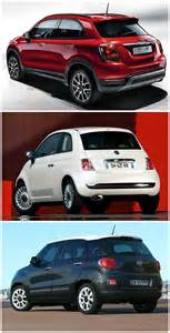 Fiat 500 Vs Fiat 500x Vs 500l Vs 500 Italian Family Comparison