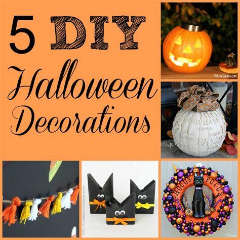 halloween diy decorations five spooky diy halloween decorations