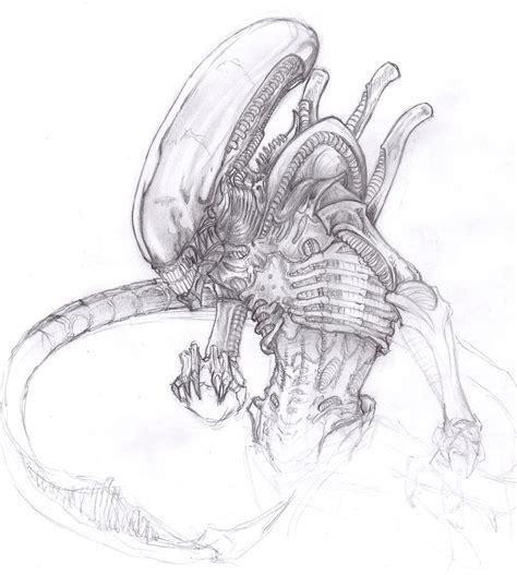 xenomorph alien by chrisozfulton on deviantart