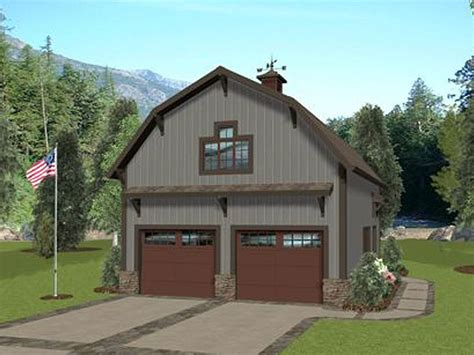 Gambrel Roof Barn Plans by Carriage House Plans Barn Style Carriage House Plan With