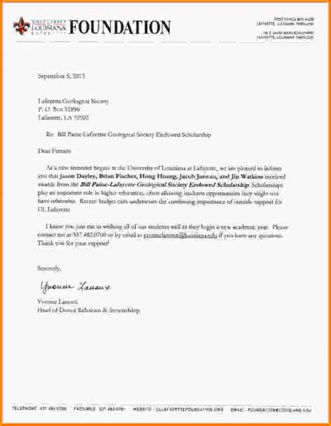 Decline Award Letter college rejection letter template business