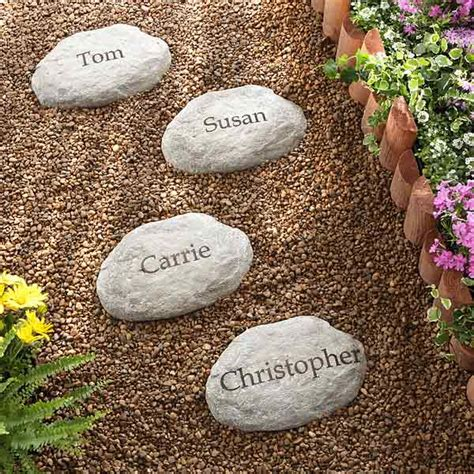 Mother S Day Gift Ideas For Green Thumbs Custom Garden Rocks
