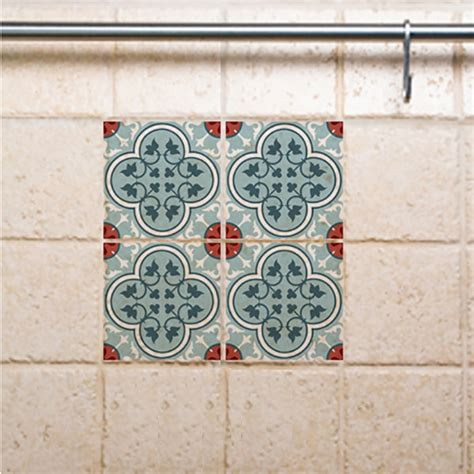 Bathroom Tile Vinyl Stickers Traditional Tiles Floor Tiles Floor Vinyl Tile