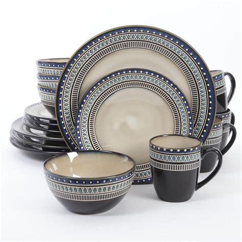 Restomart Plates 4 Pc Set gibson 16 pc magello dinnerware set shop your way