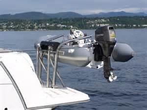 Ballard Design Locations builders of boat davits pioneers of transom davit technology