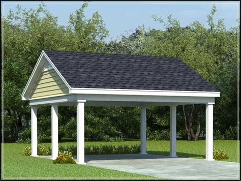 Free Standing Garage Plans by Choosing The Best Carport Designs For The Safety Of Your